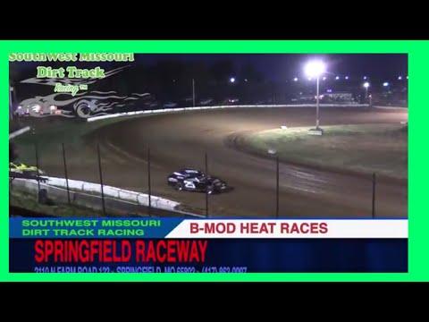 B Mod Heat Races Springfield Raceway September 16 2017
