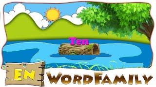 Make a word with en | en word Family | en Rhyming words