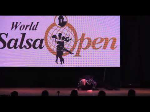 World Salsa Open 2014 - Campeon Solista masculino -  Bruno Rodriguez - Puerto Rico
