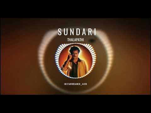 Sundari | Thalapathi | Tamil Movie Bgm