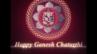 HAPPY GANESH CHATURTHI WISH 3D ANIMATION GREETINGS Motion Graphics