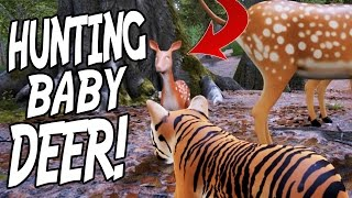 HUNTING ANIMALS IN OPEN WORLD ANIMAL SIMULATOR! - Survivalizm Gameplay