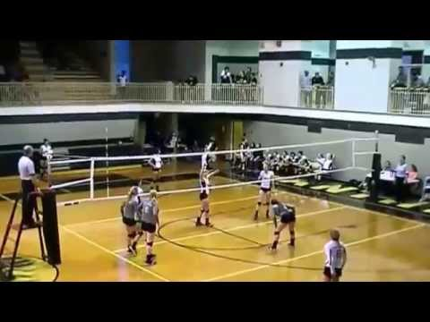 Courtney Poole, Ohatchee High School 2016, Volleyball Highlight Video 4