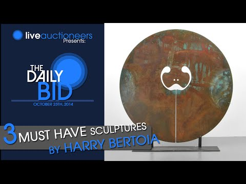 3 Must-Have Harry Bertoia Sculptures - The Daily Bid
