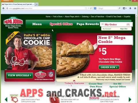 Papa John's Free Coupons | Papa Johns Coupon Generator