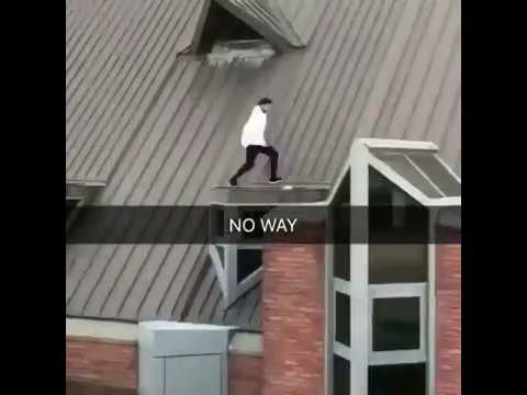 Parkour Running From Cops