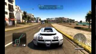 Balade en Bugatti sur TDU2 [HD]