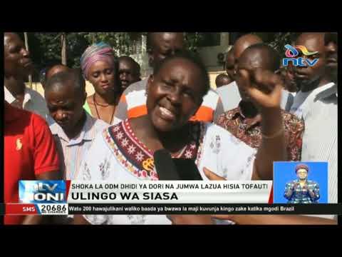 Shoka la ODM lawapa kiwewe wabunge Dori na Jumwa