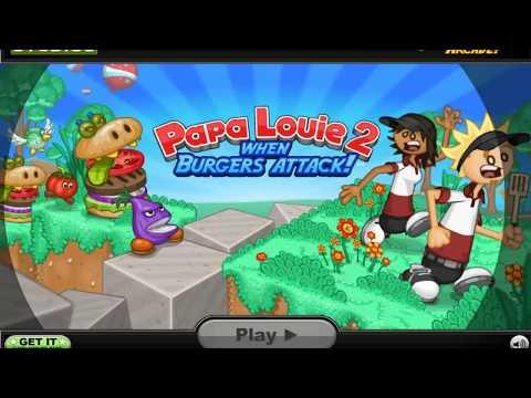 Papa Louie 2 Save Game