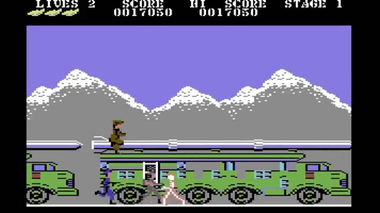Green Beret C64