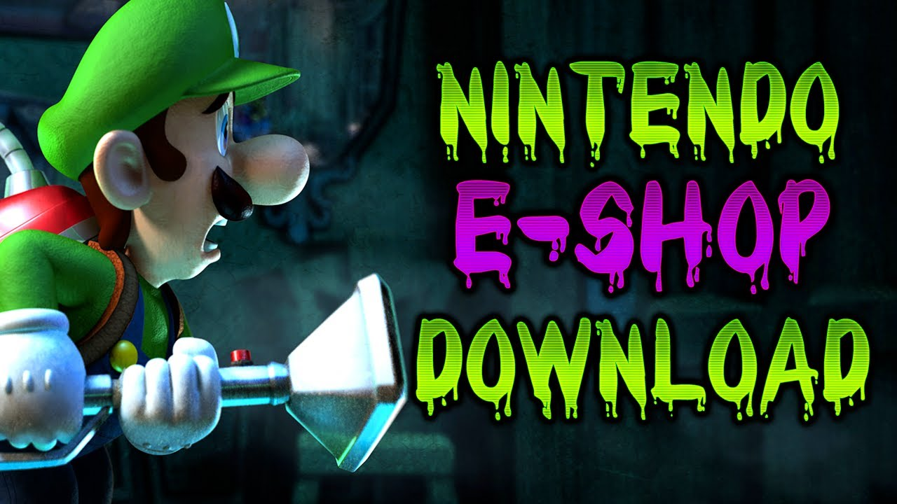 Luigi S Mansion Dark Moon Buying Downloading From E Shop