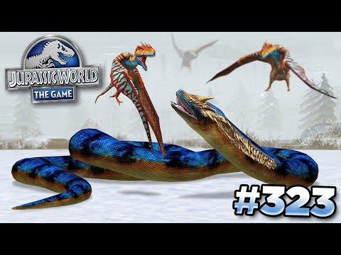 TITANOBOA TAKES ON THE BIRDS!!! || Jurassic World - The Game - Ep323 HD