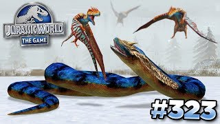 TITANOBOA TAKES ON THE BIRDS!!!    Jurassic World - The Game - Ep323 HD