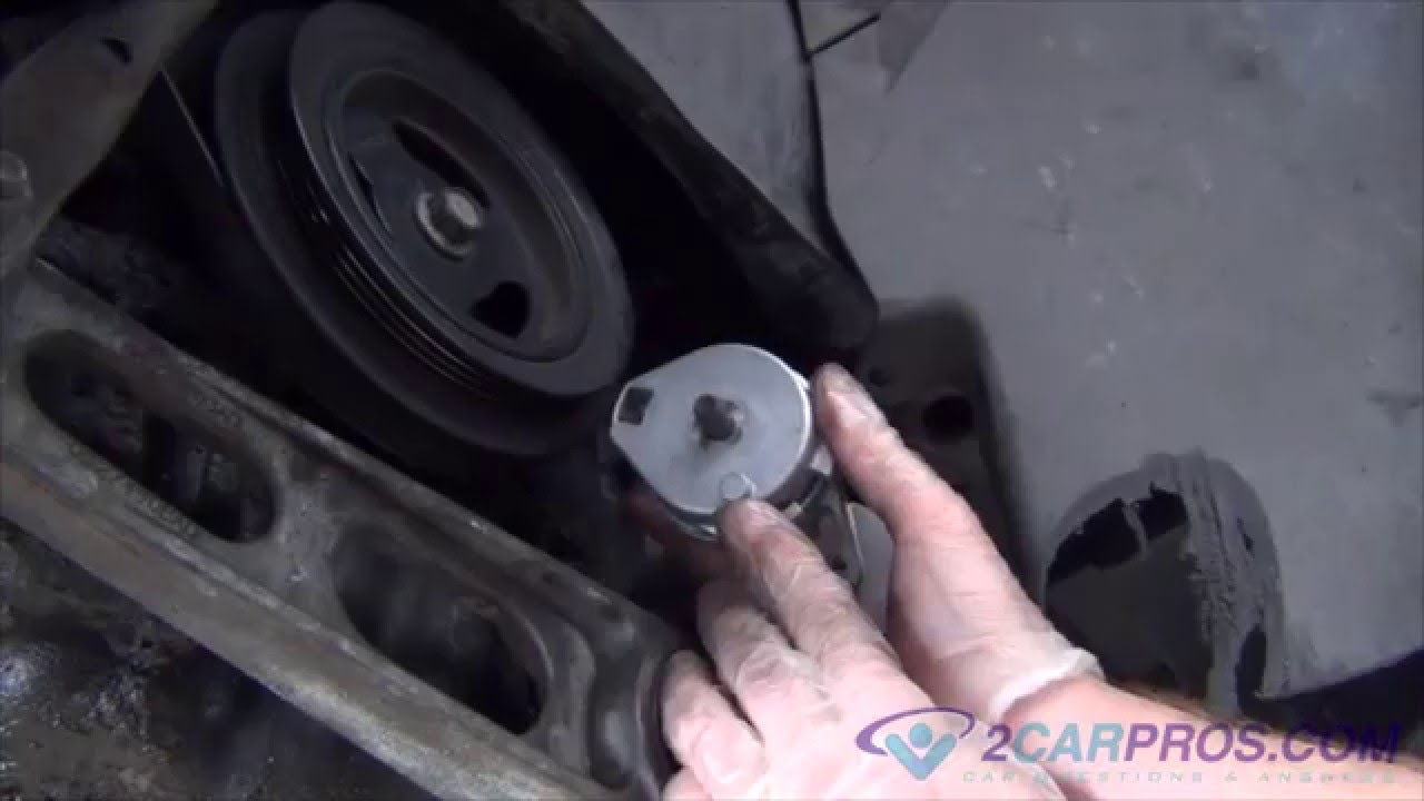 small resolution of serpentine belt tensioner replacement chrysler pt cruiser