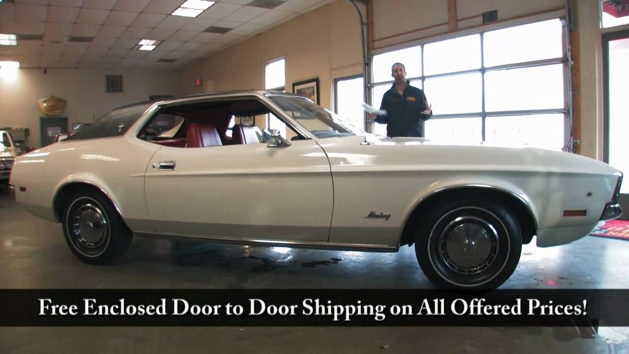 1972 ford mustang for sale with test drive driving sounds and walk through video