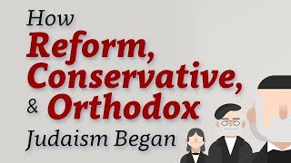 History of Jewish Movements: Reform, Conservative and Orthodox