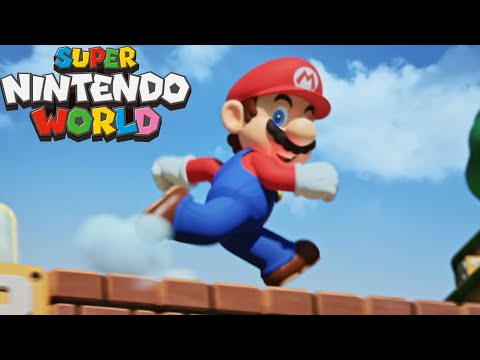 Super Nintendo World - Cinematic Trailer + Mario Kart Ride (Born To Play - Universal Studios)