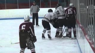 Michael Tabb from Matt Walthouse and Spencer Robbins for LANCER HOCKEY '16 v Amherst 3rd Period