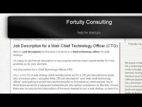Chief Product Officer Job Description  Youtube