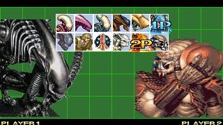 Alien Vs Predator Mugen Game(PC)