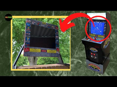 Second Life for an old Arcade1up monitor from 19kfox