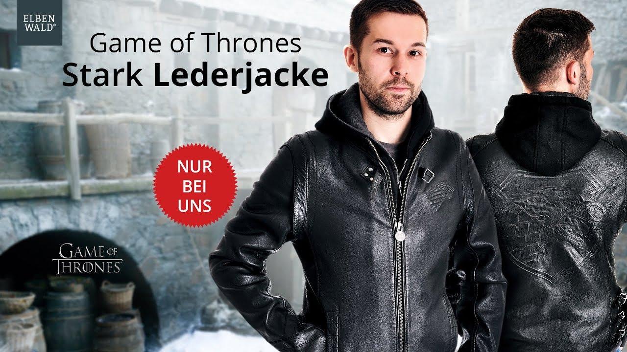 9f7d9c4a7c9 Game of Thrones: Stark Lederjacke – exklusiv bei Elbenwald