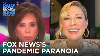 Desi Lydic Calls Aunt Jeanine | The Daily Social Distancing Show