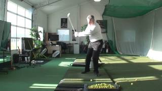Tilt Acid Test and Center the Swing Drills Shawn Clement Wisdom In Golf