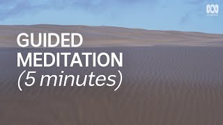 Guided Meditation For Calming The Mind (5 Minutes) | Natural Mindful