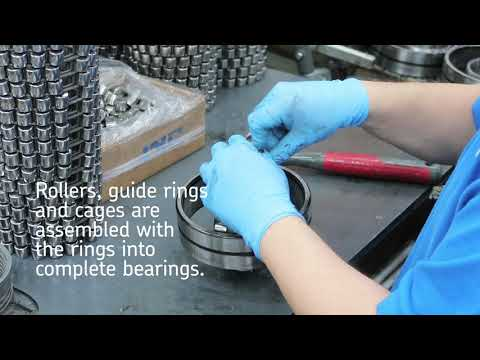 Spherical Roller Bearings: How Are They Made?
