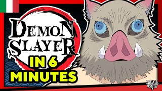 Demon Slayer in 6 Minuti! - TeamFourStar - DUB ITA