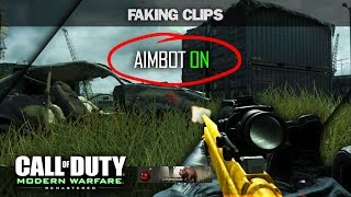 I AM FAKING CLIPS ON MODERN WARFARE REMASTERED!