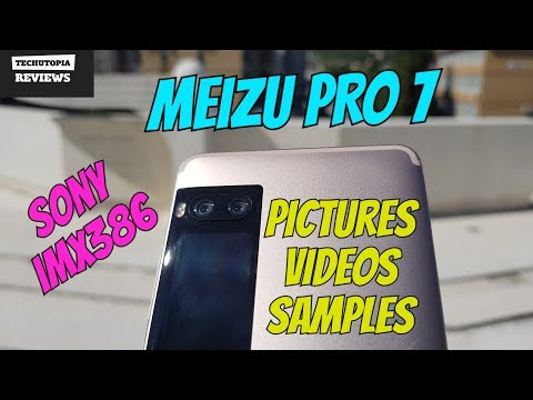 MEIZU Pro 7 Dual Camera review/Bokeh/Video+Picture samples/Audio/Selfie/with Gimbal