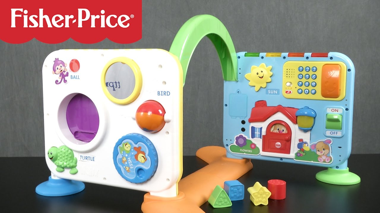 018aa04c9bbb Laugh   Learn Crawl-Around Learning Center from Fisher-Price - YouTube