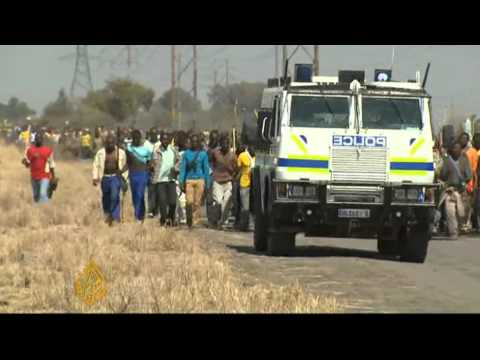 Miners' strike tops S Africa congress...