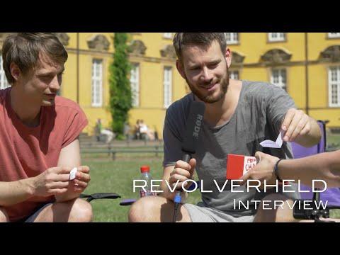 Revolverheld im Interview mit LEISE/laut [Schlossgarten Open Air Osnabrück 2015]