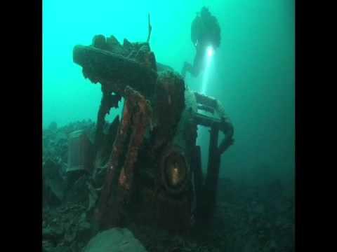 Diving Crescent Lake, Washington