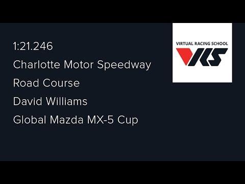2016S4 - Week 6 (Charlotte Motor Speedway - Road) - Global Mazda MX-5 Cup Series