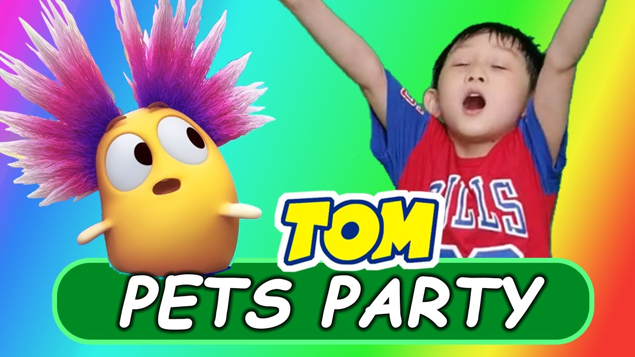🎉 Party With Pets in Space?! 🎉 More Playtime Fun in My Talking Tom Friends in REAL LIFE