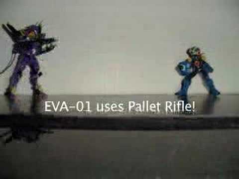 EVA-01 V.S. RockMan.EXE: Version 2