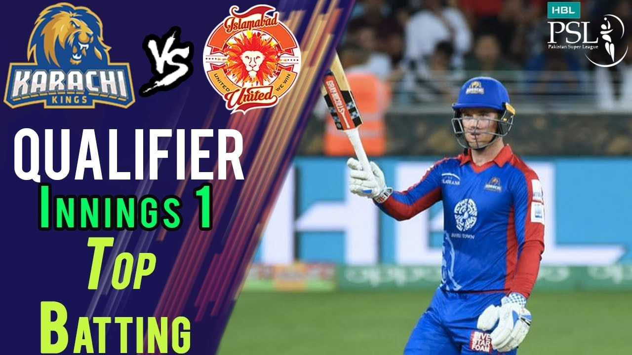 Colin Ingram Batting | Karachi Kings Vs Islamabad United  | Qualifier | 18 March | HBL PSL 2018
