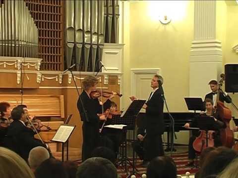 Слушать песню Иоган Себастьян Бах - Первый концерт для скрипки и струнных (ля минор)