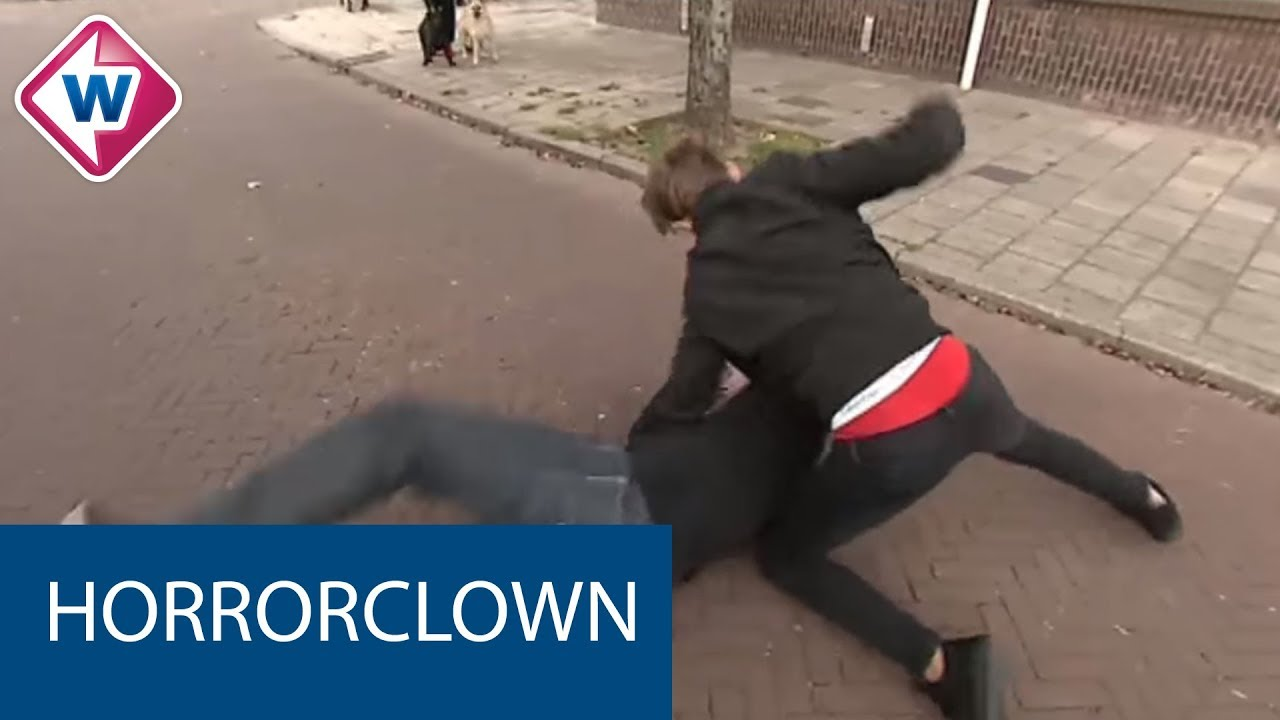 Welp Luc verjaagt horrorclown - OMROEP WEST - YouTube HC-64