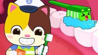 "Brush Your Teeth | ""No No"" Bedtime Song | Good Habits Song | Nursery Rhymes | Kids Songs | BabyBus"