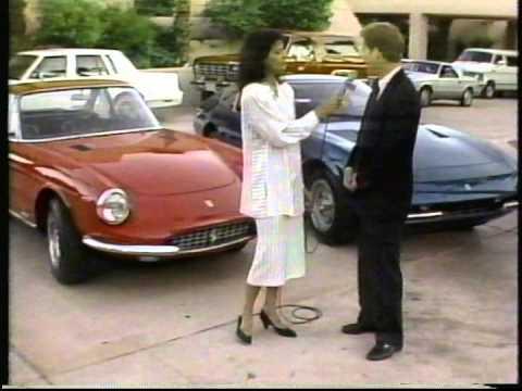 Vintage Racing at Palm Springs, 1987.