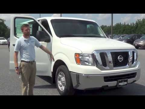 2013 Nissan NV 2500 SV Commercial Van Review by Preston Nissan of Maryland and Delaware