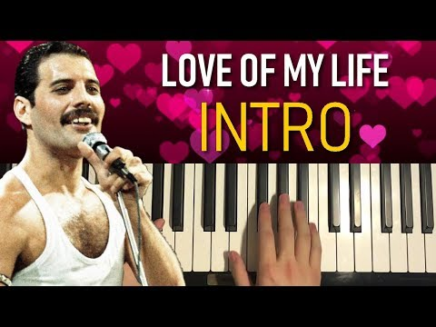Queen - Love Of My Life (Piano Tutorial Lesson) [PART 1]