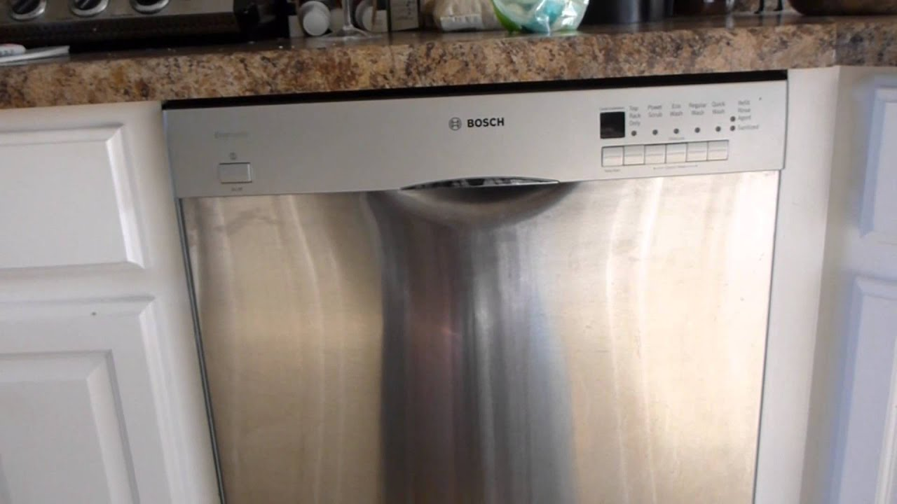 bosch dishwasher review opinions after 8 months ownership youtube. Black Bedroom Furniture Sets. Home Design Ideas