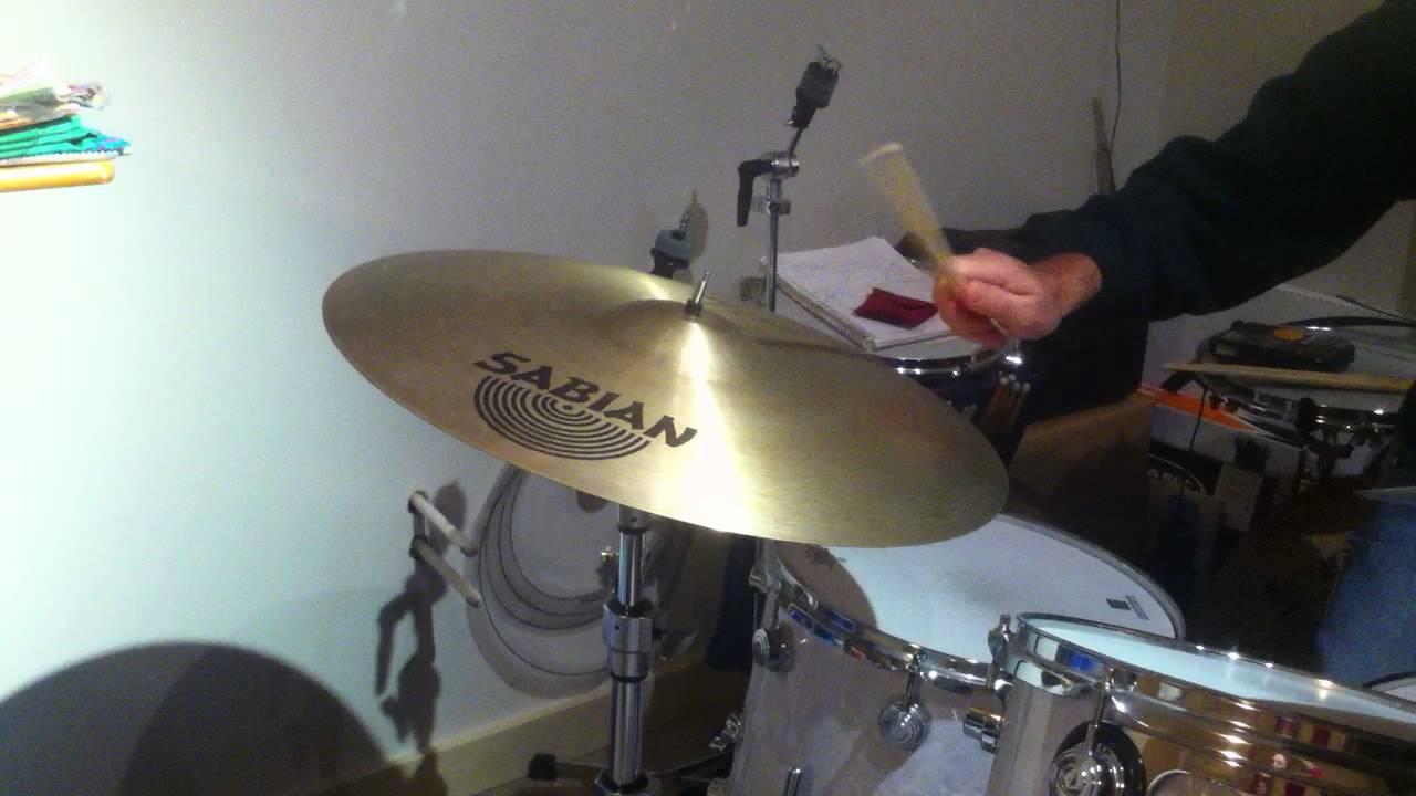 20 sabian hand hammered jazz ride cymbal youtube. Black Bedroom Furniture Sets. Home Design Ideas