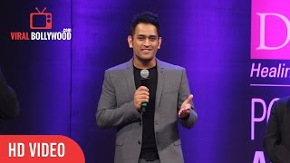 Dhoni In Funny Mood About His White Beard